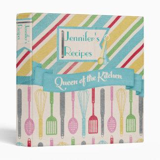 Queen Of The Kitchen Recipe Binder