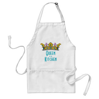 Queen of the Kitchen with Crown Standard Apron