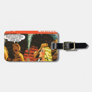 Queen of the Lizard Men Luggage Tag