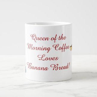 Queen of the Morning Coffee JUMBO custom mug