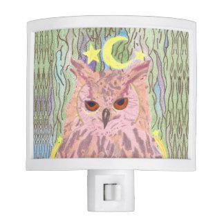 Queen of the Night Girly Owl Nightlight Night Light