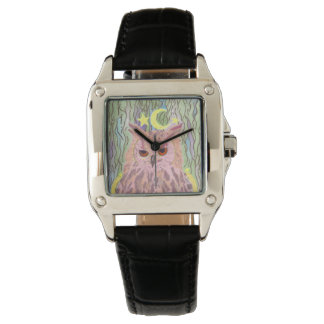 Queen of the Night Girly Owl Watch