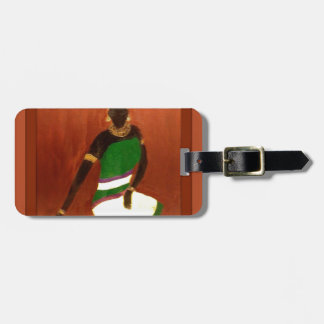 Queen Of The Nile Luggage Tag