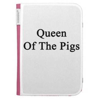 Queen Of The Pigs Kindle Keyboard Cases