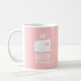 Queen of the Road - Keep Calm Glamp On Coffee Mug