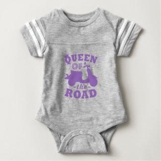 Queen of the Road - Purple Baby Bodysuit