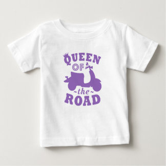 Queen of the Road - Purple Baby T-Shirt