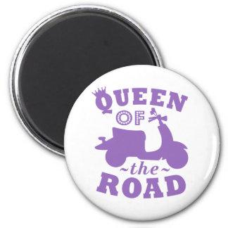 Queen of the Road - Purple Magnet