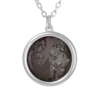 Queen of the Rural Jungle Silver Plated Necklace