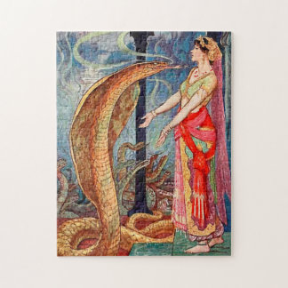 Queen of the Snakes Jigsaw Puzzle