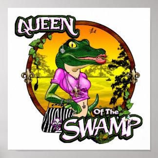 Queen Of The Swamp Poster