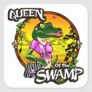 Queen Of The Swamp Stickers