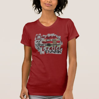 Queen of the trailer park funny ladies tee