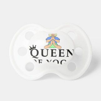 queen of yoga baby pacifiers