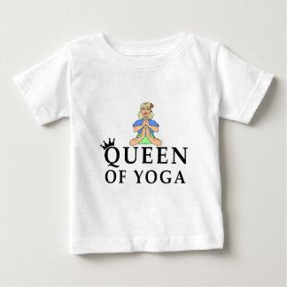 queen of yoga baby T-Shirt