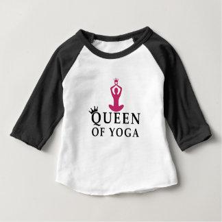 queen of yoga crown baby T-Shirt