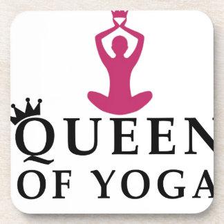 queen of yoga crown coaster