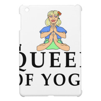 queen of yoga iPad mini case