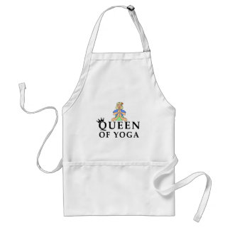 queen of yoga standard apron