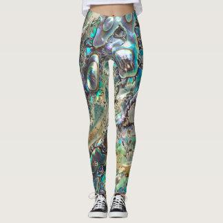 Queen paua shell leggings