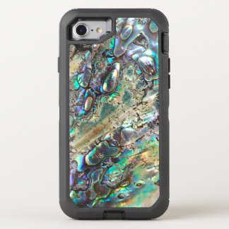 Queen paua shell OtterBox defender iPhone 7 case