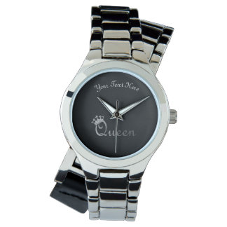 Queen Personalized Wrist Watch