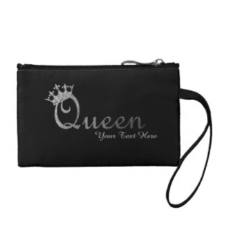 Queen Personalized Wristlet
