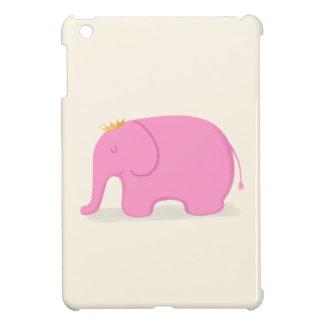 Queen Pink Elephant iPad Mini Cover