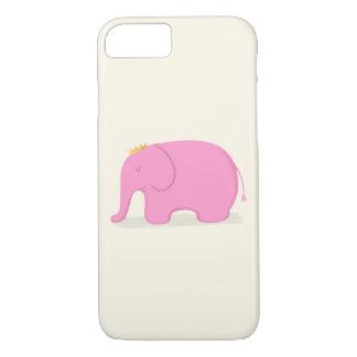 Queen Pink Elephant iPhone 8/7 Case