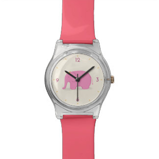 Queen Pink Elephant Watch