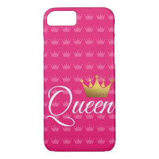 queen pink i-phone phone case
