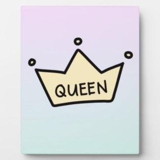 queen plaque