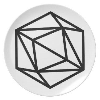Queen (positive) / Melamine Plate