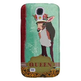 Queen Pretty Pink Fawn  Galaxy S4 Cases
