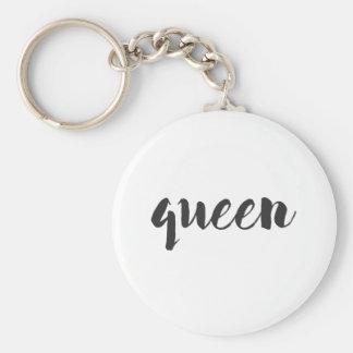 Queen Print Keychain
