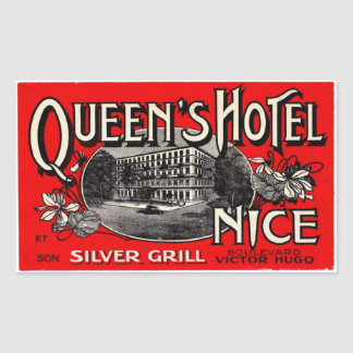 Queen' S Hotel (Nice) Sticker