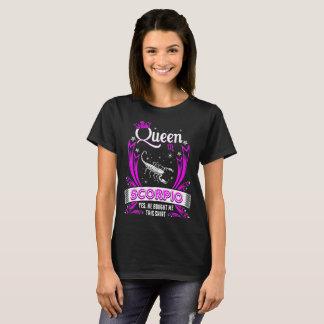 Queen Scorpio He Bought Me Shirt Zodiac Tshirt