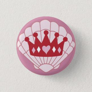 Queen SeaShell Crown button