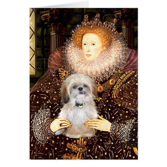 Queen - Shih Tzu (P) Card