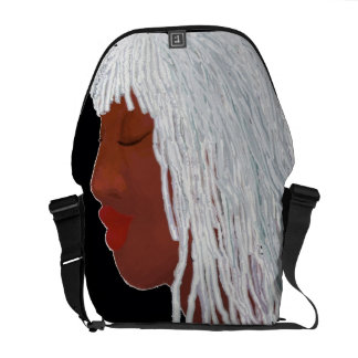Queen Silver Locs Courier Bag