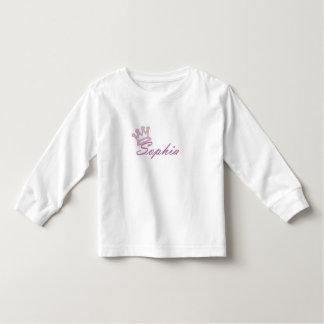 Queen Sophia Toddler Long Sleeve Shirt