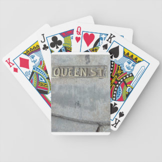 Queen Street...Get Your Royalty On! Bicycle Playing Cards
