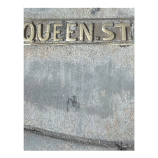 Queen Street...Get Your Royalty On! Letterhead