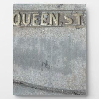 Queen Street...Get Your Royalty On! Plaque