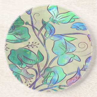 Queen Sweet Pea Coaster