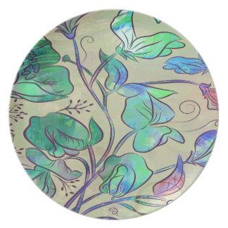 Queen Sweet Pea Plate