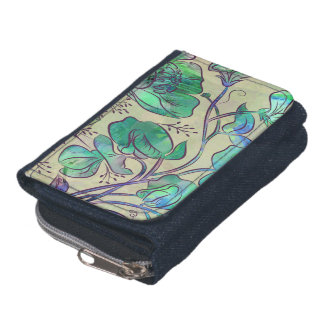 Queen Sweet Pea Wallet