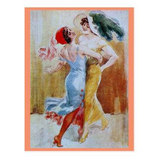Queen Tango Postcard