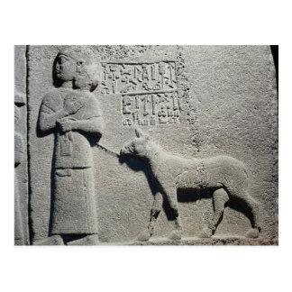 Queen Tuwarissa, wife of King Araras Postcard