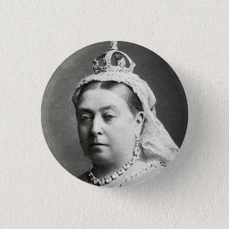 Queen Victoria 1 Inch Round Button